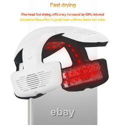 Salon Professional Infared Lamp Temp Perm Color Heater Hair Hood Dryer Processor