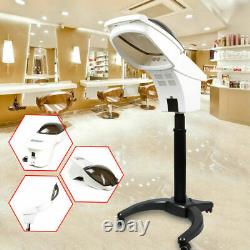 Salon Professional Stand Hair Spa Spray Steamer Oil Treatment Machine LCD
