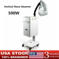 Salon Professional Stand Vertical Nano Hair Steamer Anion Hair Color Processor
