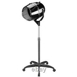 Stand Up Hair Dryer Timer Swivel Hood Caster For Professional Salon Hair Beauty