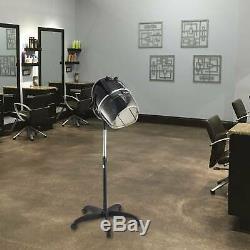 Standing Up Hair Dryer Timer Swivel Hood Caster for Professional Salon Beauty