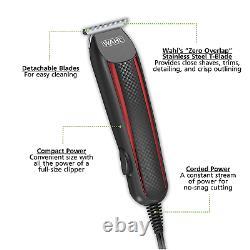 Wahl Professional Hair Cut Machine Barber Salon Cutting Clipper Trimmer Kit Set