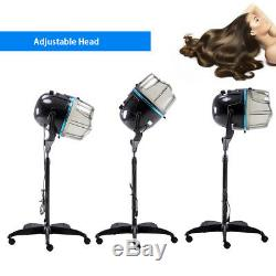 1000w Stand Up Bonnet Sèche-cheveux Salon Professionnel Bonnet Roulant Salon De Base Bk