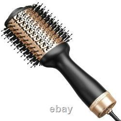 20xpinceau De Sèche-cheveux Professionnel Brosse À Air Chaud Pour Salon De La Maison Avancé Une Étape