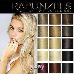 24 Wefted Cheveux Weave Cheveux Rapunzels Salon Professionnel Extensions De Cheveux