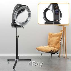 3 En1 Pro Orbiting Halo Sèche-cheveux Infrarouge Couleur Processeur Salon Withrolling Base