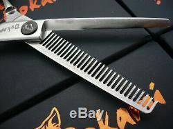 5.5 Damas Pro Ciseaux Cheveux Clairsemés Ciseaux Coiffure Salon Dtr-530