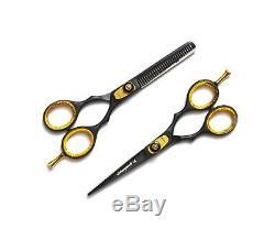 5.5 Salon Professionnel Coiffure Coupe De Cheveux Dilution Ciseaux De Coiffure Set