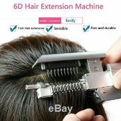 6d Cheveux Extensions Outil Pro Salon No Chaleur Nécessaire Meilleur Extras Méthode Permanente