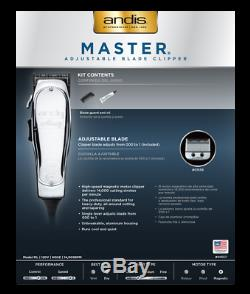 Andis Professional # 01557 Maître Réglable Lame Clipper / Trimmer Barber Salon