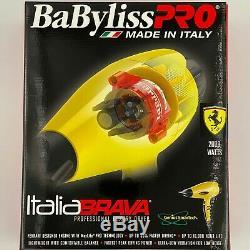 Babyliss Pro Italia Brava Luxe Salon Sèche-cheveux 2000w Ferrari Design Moteur