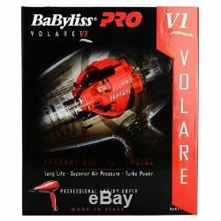 Babyliss Pro Volare Italia Bfrv1 Salon Sèche-cheveux 2000w Ferrari Design Moteur