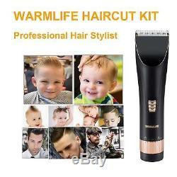 Barber Clippers Set Cutter Cheveux Machine Professionnelle Sans Fil Trimmer Salon Fade