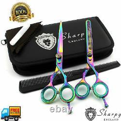 Barber Salon Hair Professional Cutting Thinning Ciseaux Ciseaux Cisaillements Coiffure Nouveau