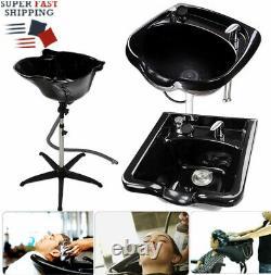Bigtimes Pro Salon Hair Basin Bowl Traitement Shampooing Bowl Barber Tool Equipment