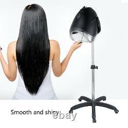 Black Pro Salon Hair Steater Teeing Perming Machine De Traitement D'huile USA