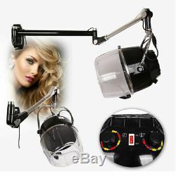 Bonnet Montage Mural Sèche-cheveux Avec Minuterie Pivotant Hotte Caster Salon Professionnel