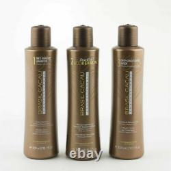 Brasil Cacau Kit Brésilien Eco Keratin Salon Professional Hair Treatment = 900ml