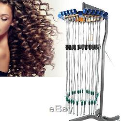Céramique Numérique Perm Cheveux Machine Salon De Coiffure Machine + Perm Rod Salon Pro