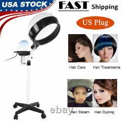 Cheveux À Capuchon Steamer Rolling Floor Standing Beauty Salon Equipment Professional