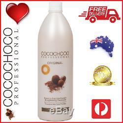 Cocochoco Pro Original Brésil Kératine Droite Traitement Hair Salon 1000ml 1l