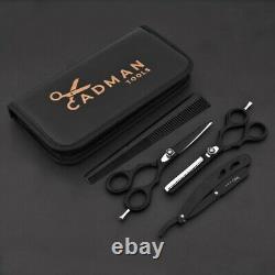 Coupe De Cheveux, Éclaircissage Ciseaux Cisaille Salon De Coiffure Professional Barber Set