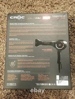 Croc Tukay Tu'kay 2 2k2 Infrared Hair Dryer Blower Salon Professionnel