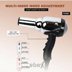 Enzo 8000w Metal Body Salon Professional Hair Dryer Volumizer Negative Ion Blow