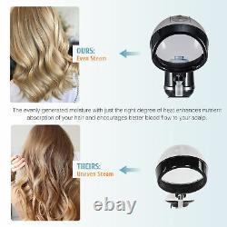 Équipement Professionnel De Traitement Des Cheveux À Capuchon Steamer Pour Salon De La Maison Plus
