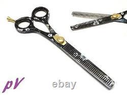 Exclusif Double Side Salon Professionnel Coupe De Cheveux Thinning Ciseaux Cisaillements 6