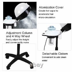 Hair Steamer Rolling Stand Color Beauty Salon Spa Equipment Professional