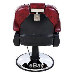 Heavy Duty Professionnel Barber Shop Chaise Hydraulique Salon De Coiffure Styling Recline