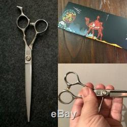 Japon Ciseaux De Coiffure Salon Professionnel Barber Ciseaux D'argent De Coupe De Cheveux