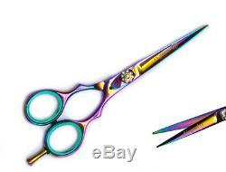 Japonais Ciseaux De Coupe De Cheveux Professionnel Barber Stylist Salon Ciseaux 5.5 Pro