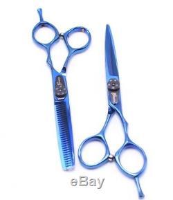 Japonaise Coupe Professionnelle Cheveux Ciseaux Barber Stylist Salon Ciseaux 5.5set