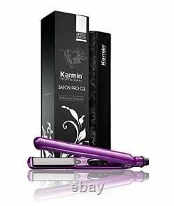 Karmin G3 Salon Pro Lisseur Professionnel, 100-240 Couleur Pourpre Nouveau