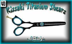 Kissaki Gaucher Pro Hair Daisaku L 26t Noir Salon Bleu Cheveux Dilution Cisailles