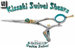 Kissaki Pro 5.5 Gokatana B Double Pivot Coupe De Cheveux Salon Ciseaux Ciseaux