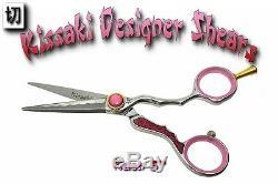 Kissaki Pro Cheveux Ciseaux 5.0 Kaen Rose Designer Salon Ciseaux De Coupe De Cheveux