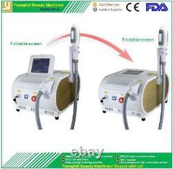 Machine D'épilation Opt Shr Ipl Laser Multifonction Professionnel Pour L'utilisation De Salon