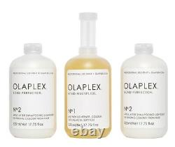 Olaplex Salon Intro Kit Pour L'utilisation Professionnelle Authentique Et Scellée! Navire Libre