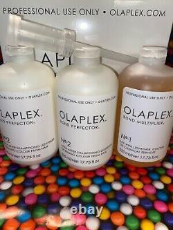 Olaplex Salon Intro Kit Pour Un Usage Professionnel Étape N ° 1 & 2 Plus Grande Taille Authentique