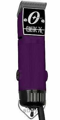 Oster Classic 76 Clipper Professionnel Pro Salon Purple, Utilisé