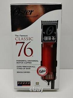 Oster Classique 76 Tondeuse À Cheveux Professionnel 76076-010 Barber Salon Haircut Cut