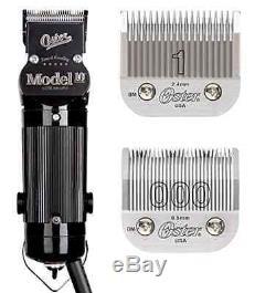 Oster Modèle 10 Classique Professionnel Barber Salon Pro Cheveux Toilettage Lame Clipper