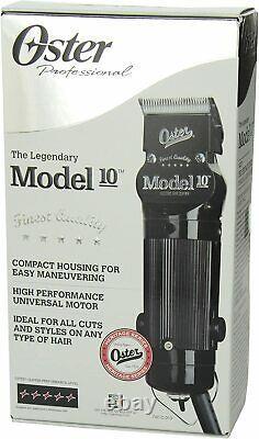 Oster Modèle 10 Tondeuse À Cheveux Professionnel 076010-010 Salon De Coiffure Coupe De Cheveux Salon Cut Pro