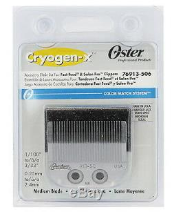 Oster Modèle 23 Rss Moyennement Rapide Clipper Lame Cryogen-x # 76913-506 Salon Pro
