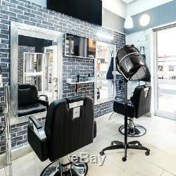 Ovente Salon Professionnel Sèche-cheveux Ionique Stand 1000w Noir Technologie Hds112b