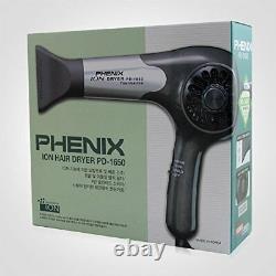 Phenix Hautement Pro Pd-1650 Sèche-cheveux Salon Séchage Rapide Korean Made