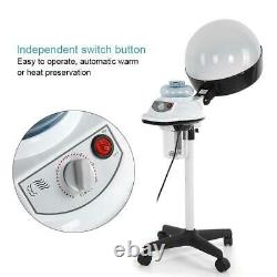 Pro Hair Steamer Coiffure Soin Salon Hood Color Processor Standing Equipment